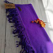 Аксессуары handmade. Livemaster - original item Scarves: Woven scarf handmade. 100% cashmere.. Handmade.