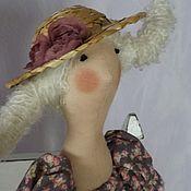 Куклы и игрушки ручной работы. Ярмарка Мастеров - ручная работа Кукла-Тильда Лето на даче. Handmade.