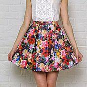 Одежда ручной работы. Ярмарка Мастеров - ручная работа Кожаная юбка №3 (40-48 размеры). Handmade.
