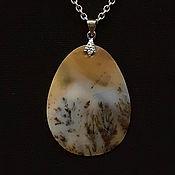Украшения handmade. Livemaster - original item Pendant: pendant №16. Chalcedony, an agate, agate Moholy.. Handmade.