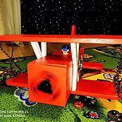 Бизиборды ручной работы. Ярмарка Мастеров - ручная работа Бизиборды: Самолет. Handmade.