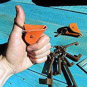 Аксессуары handmade. Livemaster - original item key chain (triangle). Handmade.