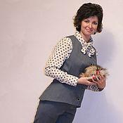 """Одежда ручной работы. Ярмарка Мастеров - ручная работа Костюм """"МАЭСТРО"""" жилет, брюки,рубашка. Handmade."""