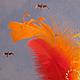 Новый год 2018 ручной работы. Рыжая. Ирина Ахилова. Интернет-магазин Ярмарка Мастеров. Сказка, елочка, чудо, натуральные перышки