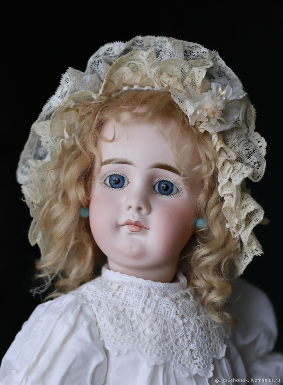 Шляпка для анткиварной куклы или реплики, Одежда для кукол, Балашов,  Фото №1