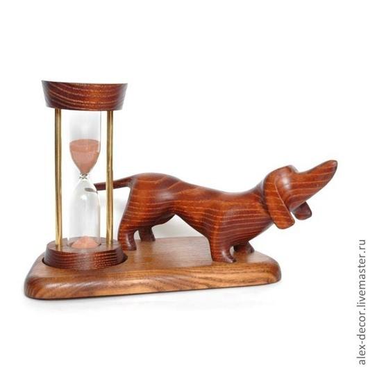 Часы для дома ручной работы. Ярмарка Мастеров - ручная работа. Купить Песочные часы Dog. Handmade. Часы, песочные часы
