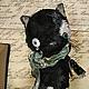 Мишки Тедди ручной работы. Заказать Плакса. Алёна Жиренкина (alenazhirenkina). Ярмарка Мастеров. Котик, коллекционные игрушки, плюшевый кот