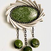 Украшения handmade. Livemaster - original item MARY`s brooch. Handmade.