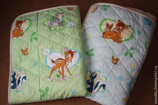 Пледы и одеяла ручной работы. Ярмарка Мастеров - ручная работа. Купить Детское одеяло из шерсти мериноса 100х140 см. Handmade.