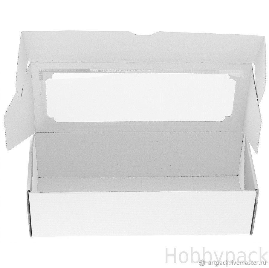 Коробка F4.0 БЕЛАЯ, МГК  23 х 14,5 х 9 см, Коробки, Москва,  Фото №1