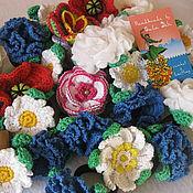 Украшения handmade. Livemaster - original item The rubber BANDS knitted rubber bands and hair clips. Handmade.