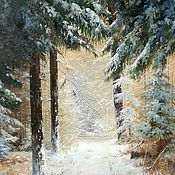 Картины и панно handmade. Livemaster - original item Painting landscape oil painting