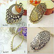 Материалы для творчества handmade. Livemaster - original item Connector for jewelry Art.KP06. Handmade.