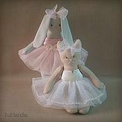 Куклы и игрушки ручной работы. Ярмарка Мастеров - ручная работа Балеринки. Handmade.