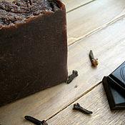 """Косметика ручной работы. Ярмарка Мастеров - ручная работа Натуральное мыло """"Шоколад с имбирем"""". Handmade."""