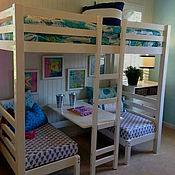 Для дома и интерьера ручной работы. Ярмарка Мастеров - ручная работа Уникальная детская кроватка. Handmade.