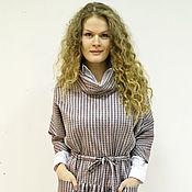 Одежда ручной работы. Ярмарка Мастеров - ручная работа Платье длинное Полосатое. Handmade.