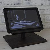 Для дома и интерьера handmade. Livemaster - original item The tablet mount stand oak. Handmade.