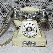 Винтаж ручной работы. Ярмарка Мастеров - ручная работа Телефон игрушечный СССР. Handmade.