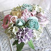Цветы и флористика handmade. Livemaster - original item Bouquet Of Tenderness-2. Flowers polymer clay handmade.. Handmade.