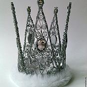 Украшения ручной работы. Ярмарка Мастеров - ручная работа Корона Королева бала. Handmade.