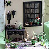 """Куклы и игрушки ручной работы. Ярмарка Мастеров - ручная работа Румбокс """"Садовый"""". Handmade."""