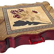 Для дома и интерьера handmade. Livemaster - original item Jewelry box, marquetry, author`s handwork. Handmade.
