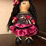Куклы Тильда ручной работы. Ярмарка Мастеров - ручная работа Кукла Цыганка. Handmade.