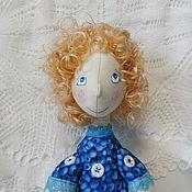 Куклы и игрушки ручной работы. Ярмарка Мастеров - ручная работа Куколка Голубиковое варенье. Handmade.