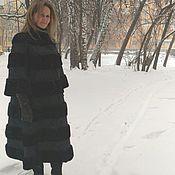 Одежда handmade. Livemaster - original item Cover, alteration mink coat in a Chic winter coat. Handmade.