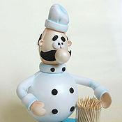 Для дома и интерьера ручной работы. Ярмарка Мастеров - ручная работа Шеф- повар 2 (помощник на кухне), кукла из Фоам Эва. Handmade.