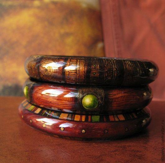 Браслеты ручной работы. Ярмарка Мастеров - ручная работа. Купить браслеты Медовая осень. Handmade. Рыжий, золотой цвет