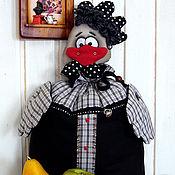 Куклы и игрушки ручной работы. Ярмарка Мастеров - ручная работа Пакетница Курочка Наташка, год Петуха. Handmade.