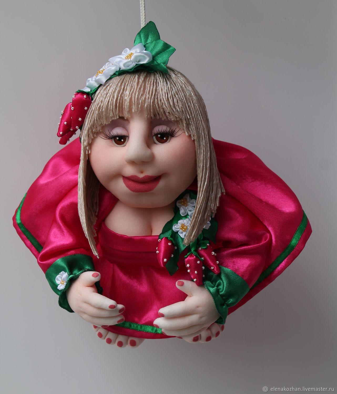 Кукла-попик на удачу- 45-баба ягодка опять, Куклы и пупсы, Москва,  Фото №1