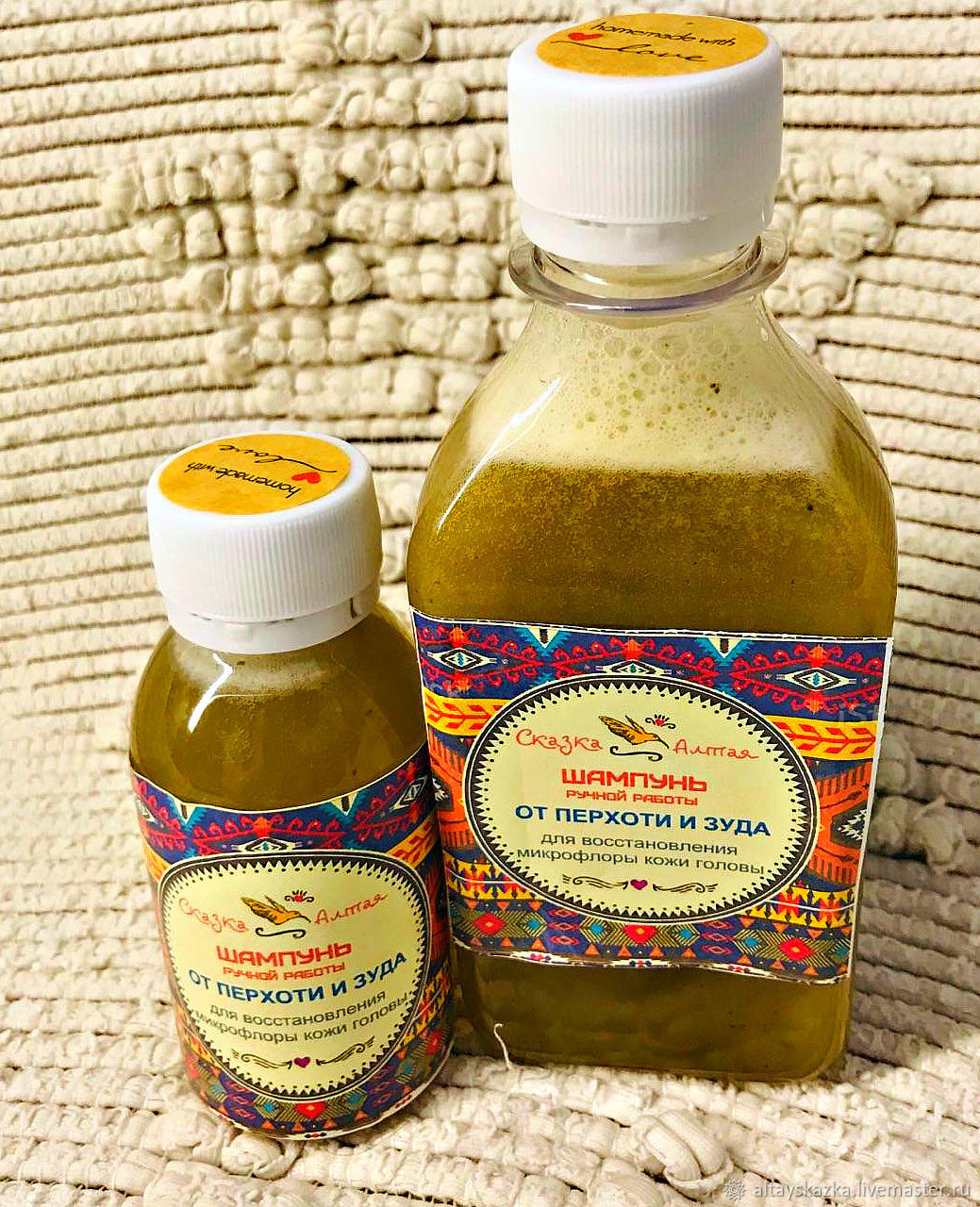Shampoo for dandruff and itching (restoration of healthy microflora), Shampoos, Soloneshnoe,  Фото №1