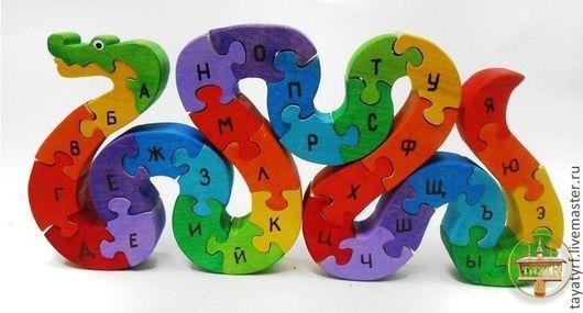 Змейка с русским алфавитом