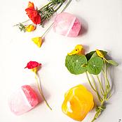 """Косметика ручной работы. Ярмарка Мастеров - ручная работа Каменное мыло """"Родохрозит"""". Handmade."""
