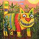 Конопляный кот. Мягкая игрушка плюшевый желтый кот Васи Ложкина. Мягкие игрушки. Дингус! Веселые коты Васи Ложкина. Интернет-магазин Ярмарка Мастеров.  Фото №2