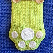 Подарки к праздникам ручной работы. Ярмарка Мастеров - ручная работа Рождественский носок для домашнего любимца. Handmade.