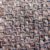 Материалы для творчества handmade. Livemaster - original item The grey fabric from dog hair