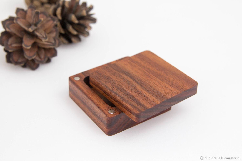 Деревянная коробка для кольца, Подарочная упаковка, Владимир,  Фото №1
