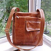 Сумки и аксессуары handmade. Livemaster - original item Men`s leather bag A La Piguardo ). Handmade.