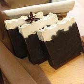 """Косметика ручной работы. Ярмарка Мастеров - ручная работа Натуральное шоколадно-молочное мыло """"Le Chocolat"""". Handmade."""