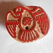 "Материалы для творчества handmade. Livemaster - original item Wooden stamp ""Bird"". Handmade."