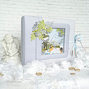 Канцелярские товары handmade. Livemaster - original item Album for boy. Handmade.
