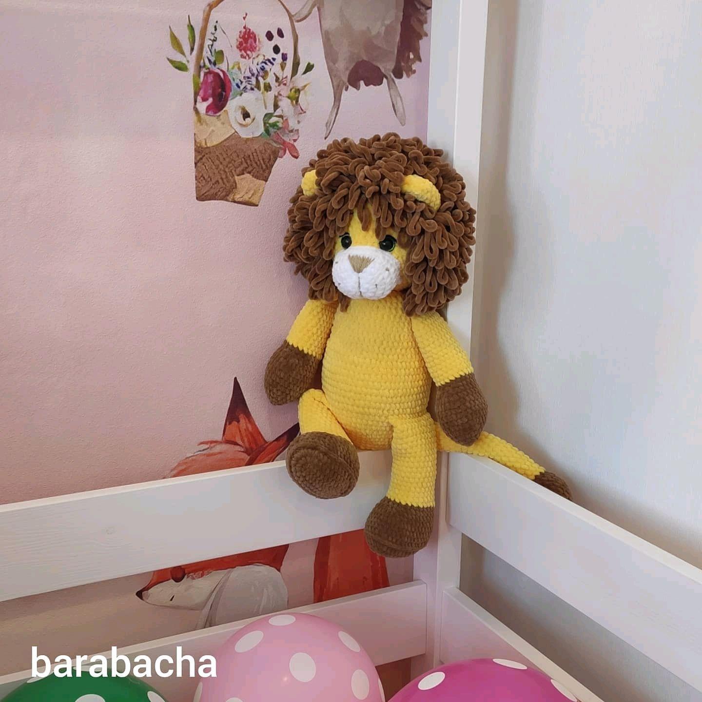 Плюшевый Лев, Мягкие игрушки, Волгодонск,  Фото №1