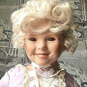 Портретная кукла ручной работы. Ярмарка Мастеров - ручная работа Кукла Ширли Темпл в платье Марии-Антуанетты. Handmade.