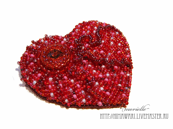 brooch Heart, Brooches, Moscow,  Фото №1