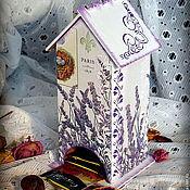 """Для дома и интерьера ручной работы. Ярмарка Мастеров - ручная работа Чайный домик """"White"""". Handmade."""