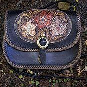 Сумки и аксессуары handmade. Livemaster - original item Shoulder bag with embossed